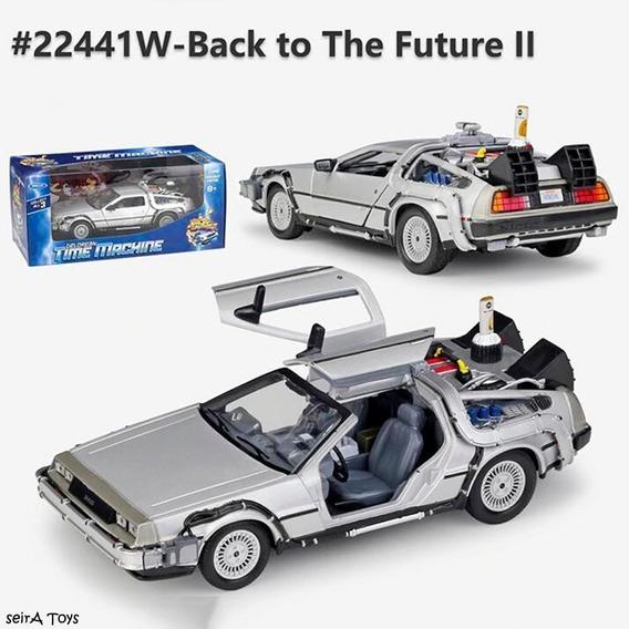 Welly Back To The Future Delorean 1:24 Volver Al Futuro 2