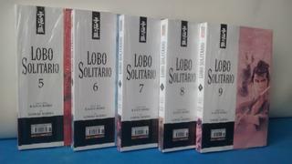 5 Quadrinhos Lobo Solitario = Novos E Lacrados.