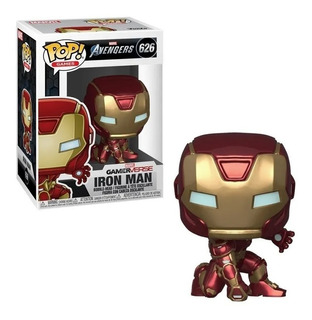Funko Pop Games Iron Man 626 Marvel Avengers Original Edu