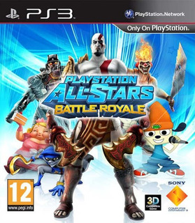 Playstation All-stars Battle Royale Digital Ps3 Latino