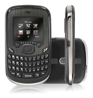 Celular Alcatel Ot355 Qwerty Dual Chip Mp3 Rádio Fm Anatel