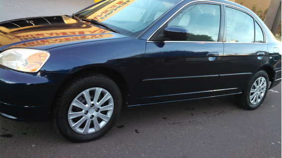 Honda Civic Lx 2002 Gasolina 4p Automático