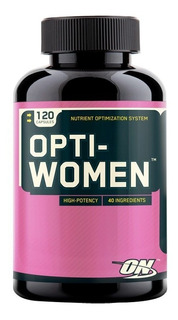 Opti-women 120 Cap Tab - Optimum - Original Importado