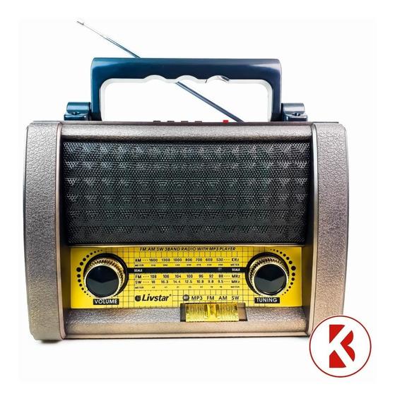 Radio Cnn-3141bt Bluetooth Usb Mp3 Usb Pendrive-marrom