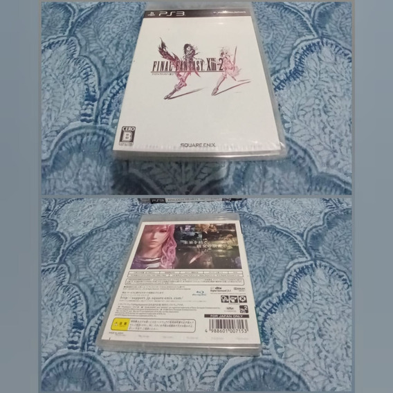 Games Jogos Ps3 Play3 Lacrado Final Fantasy Xiii - 2 13 - 2