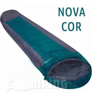 Saco De Dormir Nautika Mummy Isolante -1º À 8º Bolsa Camping