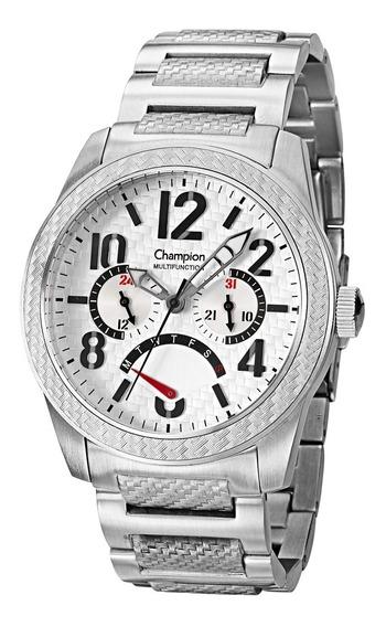 Relógio Masculino Champion Cn30865q - Prata
