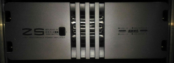 Amplificador De Potência Studio-r Z5 - 5000w Rms A Mais Nova