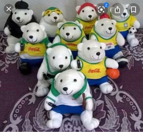 Dia Namorados | Coleção Completa Ursos Coca-cola Olimpíadas