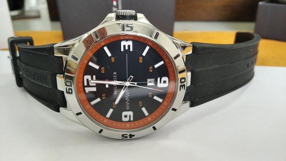 Relógio Tommy Hilfiger 46mm Semi-novo Com Caixa E Manual