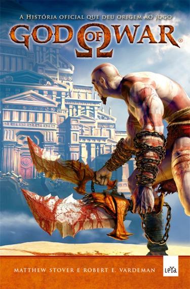 Livro God Of War A História Oficial Que Deu Origem Ao Jogo