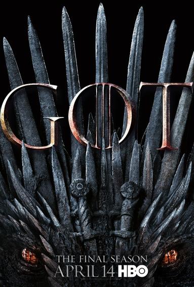 Game Of Thrones (1°a 8° Temporada) Dublado + Frete Grátis