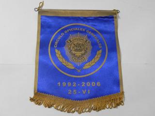Banderin Circulo Oficiales Generales Pdi Chile