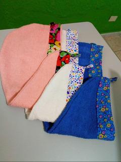 Toalla Gorro De Baño, Varios Colores Dama, Diseños Únicos