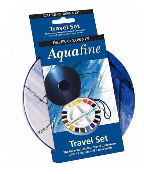 Set Acuarelas Daler Rowney X18 Travel