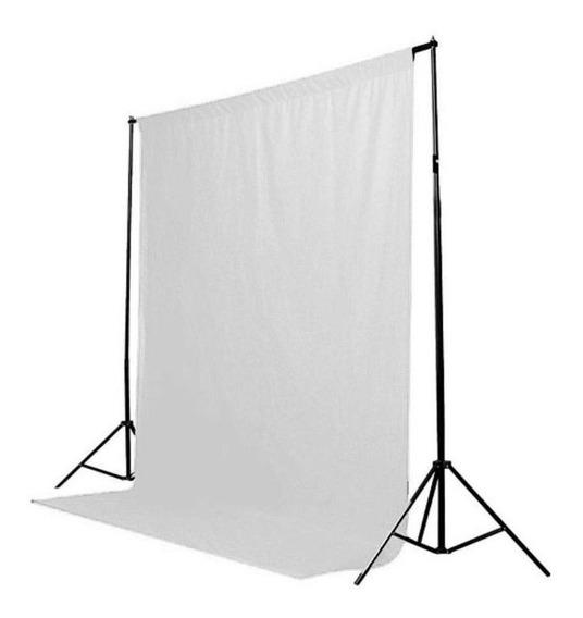 Tecido Fundo Infinito 1,40x2,00 Fotografico Branco Ou Preto