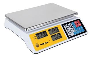 Báscula Electrónica Multifunciones 40 Kg Pretul 29966