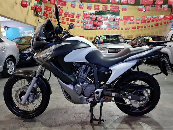 Honda Transalp 700 2014 Branca - Xl 700v Transalp Honda 2014