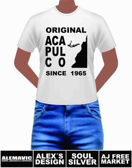 Original Acapulco Since 1965 Playera Para Ti