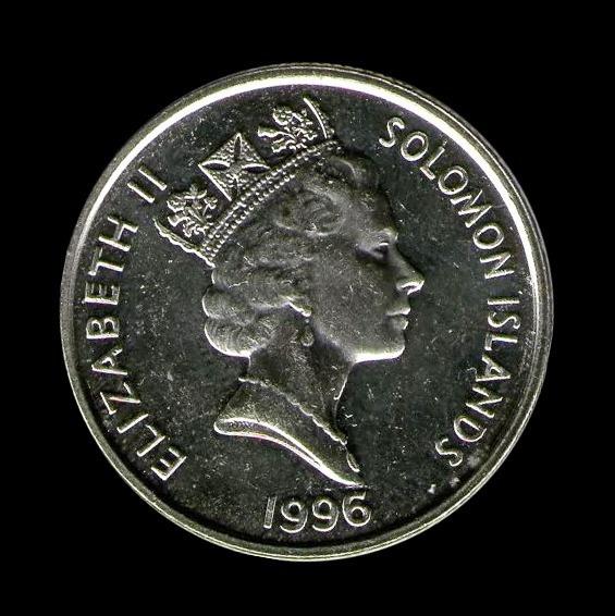 Ch C/ Islas Solomon, 5 Cents 1996 Km #27a Unc.