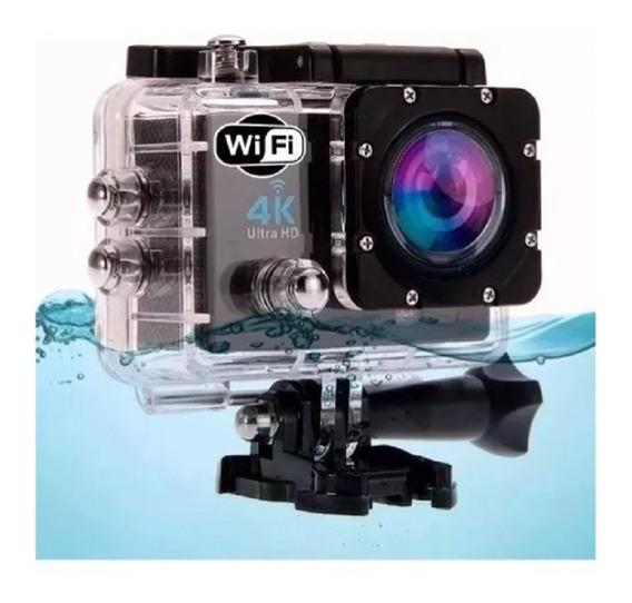 Camera Go Action Pro Sport Prova Agua Wifi Surf Motoqueiro