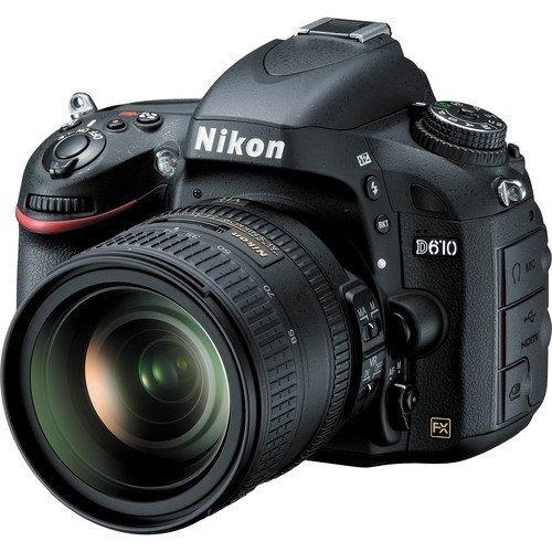 Câmera Nikon D610 Dslr Com Lente 24-120mm 24.3mp Full Frame