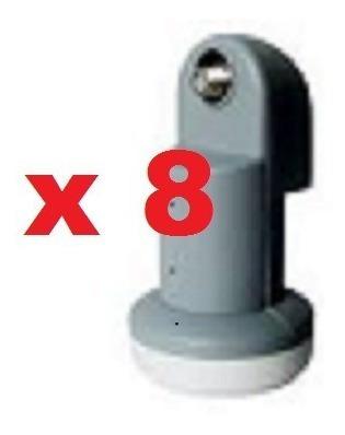 Kit 8 Lnb Simples Universal Ku