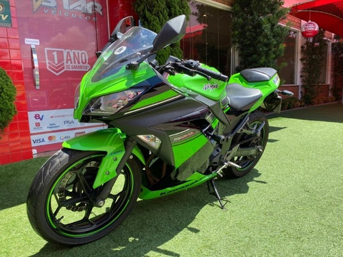 Kawasaki Ninja 300 Abs Edição Especial 2013 Starveiculos