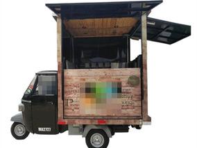 Moto Foodtruck Para Comida Listo Para Operar
