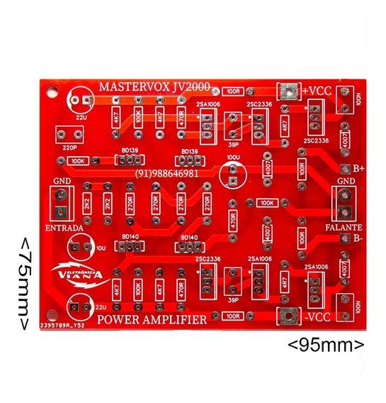 2 Placas Amplificador De Som 2000w Rms 2homs C/ 5200 E 1943