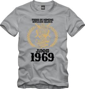 Camisa Os Melhores Homens Nascem Em Junho 1969 Data 005