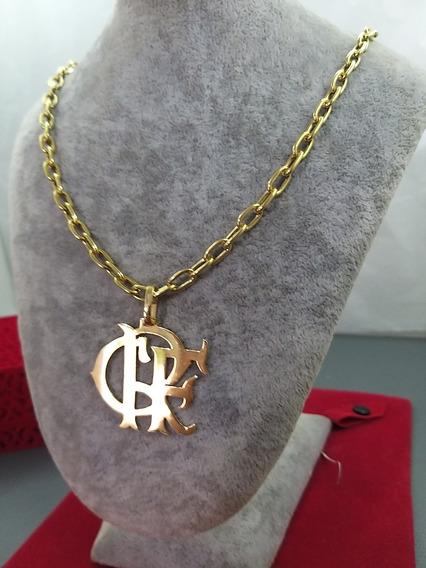 Cordão De Prata Banhado A Ouro Flamengo, O Original