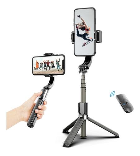 Imagen 1 de 10 de 3 En 1 Teléfono Gimbal Estabilizador Selfie Stick Trípode
