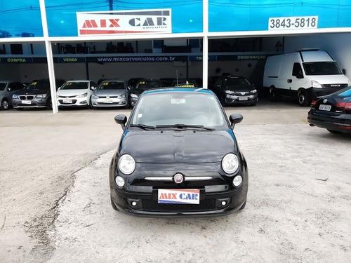 Fiat 500 Sport Air 2010 1.4 16v Completo Impecável