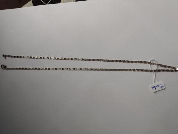 Colar De Prata 905 Corrente Cordão 50cm 2mm