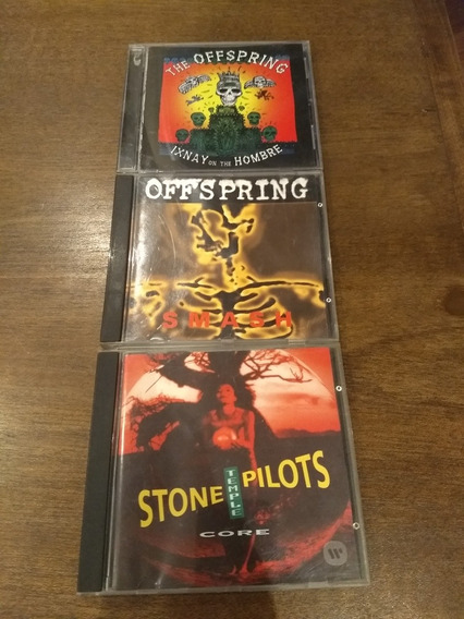 Lote Cds Offspring - Aerosmith - Stone Temple Pilots