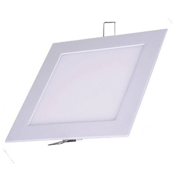 Kit 10 Plafon Embutir Teto Painel Led 24w 30x30 Branco Frio