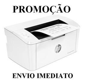 Impressora Hp Laserjet Pro M15w 110v E 220v+ Cabo Usb