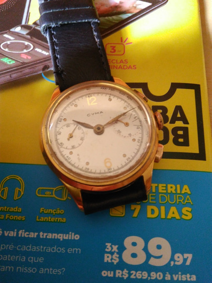 Cima Cronograph Masculino Acorda Plaque
