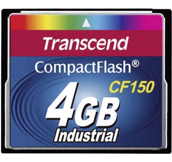 Cartão Memória Compact Flash Cf150 Transcend Industrial 4gb