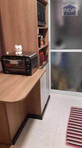 Apartamento Com 2 Dormitórios À Venda, 49 M² Por R$ 370.955,00 - Tatuapé - São Paulo/sp - Ap1274