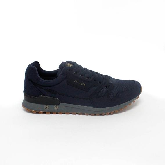 Zapatillas Para Hombre Clasicas Urban Chili Navy - Azul