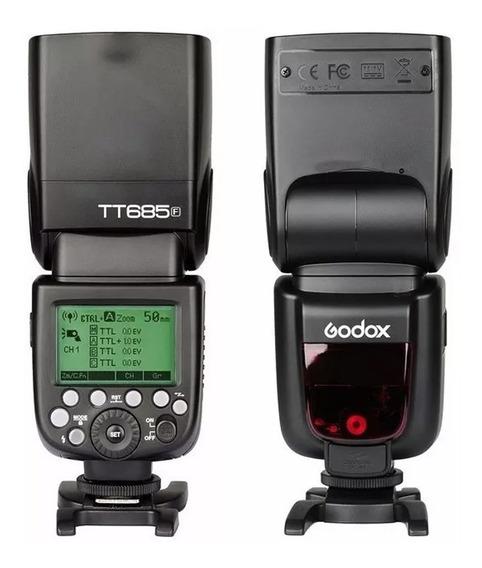 Flash Godox Tt685f Para Fujifilme Ttl Thinklite Automatico