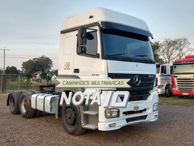 Mb Mercedes-benz Axor 2540 6x2 2008 Teto Alto Completo Truck