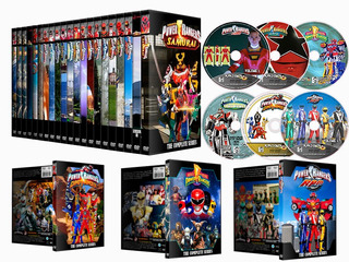 Dvds Power Rangers De Mighty Morphin A Dino Super Charge