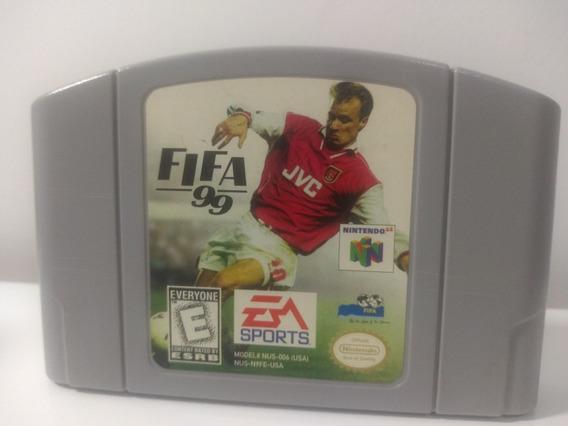 Jogo Fifa 99 Nintendo 64