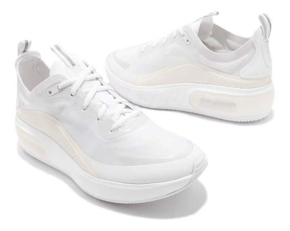 Tenis Nike Air Max Dia Blanco Aperlado# 2.5 Al 5 Mx Original