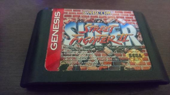 Super Street Fighter Ii Original Pra Sega Genesis/mega Drive