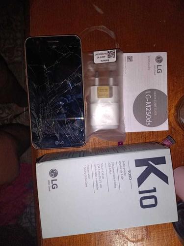 Celular LG K10 Para Reuso De Peças Ou Conserto