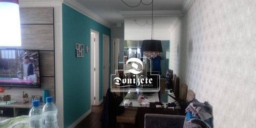 Imagem 1 de 16 de Apartamento 02 Dormitórios À Venda 65m² Apenas 475.000 - Vila Valparaíso - Santo André/sp - Ap17079